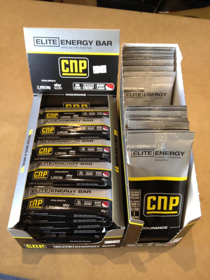 CNP energy bars now in stock