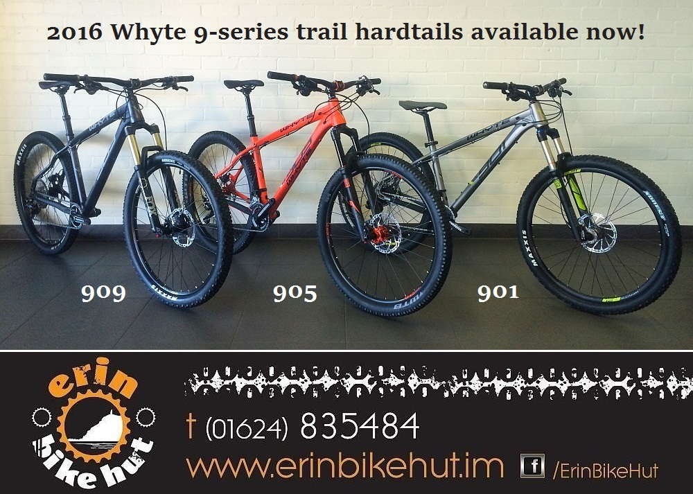 2016 Whyte 909, 905 and 901