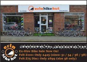 EBH Hire Bikes For Sale