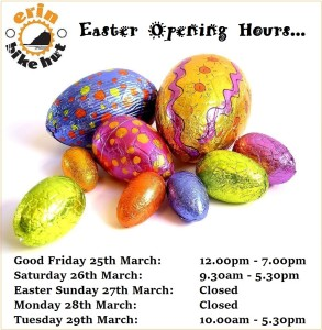 Easter 2016 Opening Hours