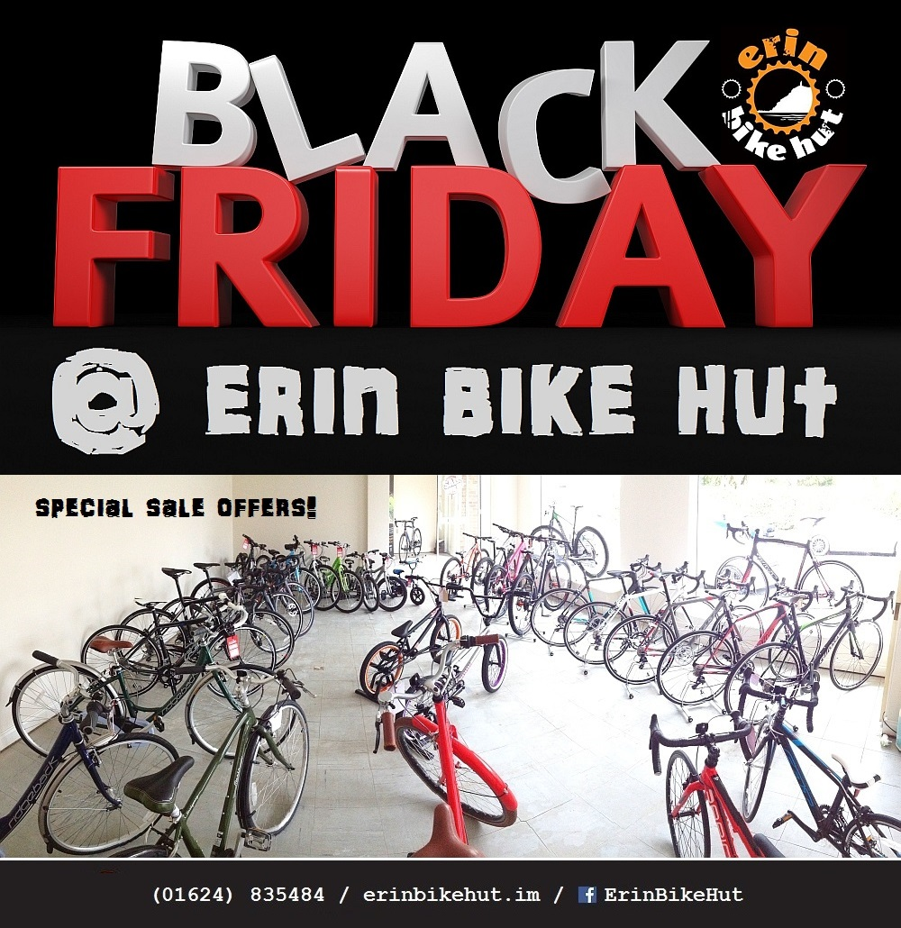 Black Friday bike sale at Erin Bike Hut