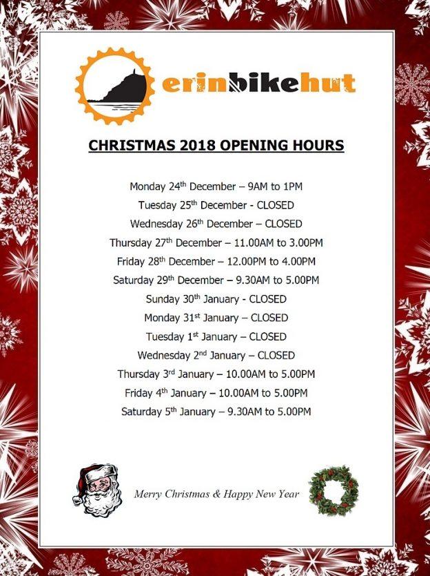 A Very Kenda Christmas.News Erin Bike Hut Erin Bike Hut Is A Friendly Bike Shop